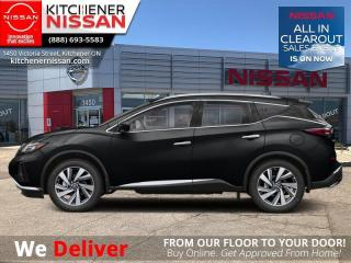 New 2021 Nissan Murano AWD Midnight Edition  -  Heated Seats - $279 B/W for sale in Kitchener, ON