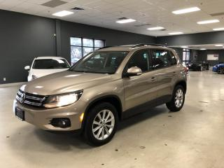 Used 2015 Volkswagen Tiguan COMFORTLINE*BACK-UP CAMERA*PANO*CERTIFIED for sale in North York, ON