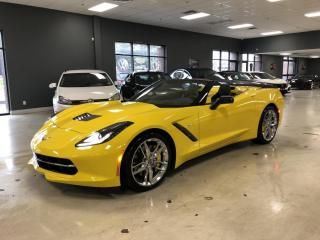 Used 2015 Chevrolet Corvette STINGRAY Z51*3LT*CONVERTIBLE*LOW KM* for sale in North York, ON