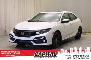 Used 2020 Honda Civic Hatchback Sport Touring HB*LEATHER*SUNROOF*NAV* for sale in Regina, SK