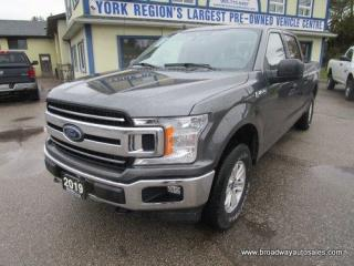 Used 2019 Ford F-150 LIKE NEW XLT-EDITION 6 PASSENGER 5.0L - V8.. 4X4.. CREW-CAB.. SHORTY.. TRAILER BRAKE.. BACK-UP CAMERA.. BLUETOOTH SYSTEM.. KEYLESS ENTRY.. for sale in Bradford, ON