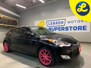 Used 2016 Hyundai Veloster Automatic Dual-Clutch * Pink DAI 17 Alloy Rims * OEM Alloy Rims 215/45/17 Winter Tires * Rear Wiper * Fog Lights * Park Assist * Active Eco Mode * He for sale in Cambridge, ON