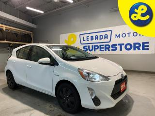 Used 2016 Toyota Prius c Hybrid * Steering Wheel Controls * Hands Free Calling * AM/FM/CD/USB/Aux/BT * Eco Mode * EV Mode * Cloth Seats * Keyless Entry * Automatic Drivers Win for sale in Cambridge, ON
