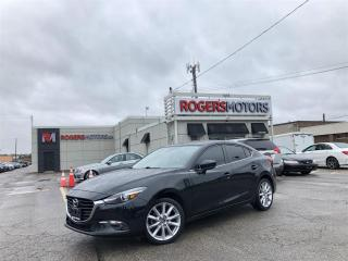 Used 2017 Mazda MAZDA3 3.99 % Financing - GT - SUNROOF - HTD SEATS - REVERSE CAM for sale in Oakville, ON