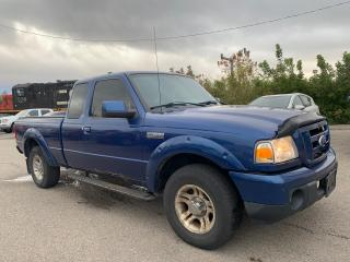Used 2010 Ford Ranger **AS IS SALE** Ford Ranger Super Cab Sport * 4.0 V6 * 2WD * Keyless Entry * Vinyl Floors * Cloth Seats * Cruise Control * AM/FM/CD * Climate Control * for sale in Cambridge, ON