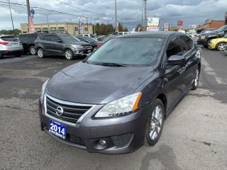 Used 2014 Nissan Sentra SR for sale in Hamilton, ON