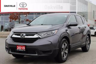 Used 2019 Honda CR-V LX FWD with Low Kilometers and Remote Starter for sale in Oakville, ON
