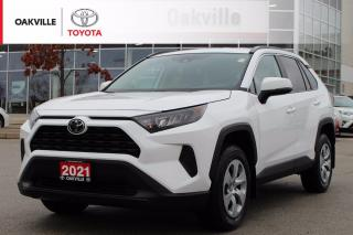 Used 2021 Toyota RAV4 LE AWD Toyota Certified with Clean Carfax for sale in Oakville, ON