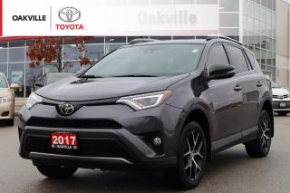 Used 2017 Toyota RAV4 SE AWD with Leather Seats and Power Liftgate for sale in Oakville, ON