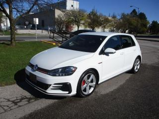 Used 2018 Volkswagen GTI 6 SPEED MANUAL ~ LOW KM ~ APPLE CARPLAY for sale in Toronto, ON