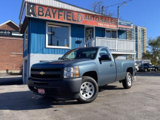 Used 2013 Chevrolet Silverado 1500 Reg Cab Long Box **5.3L/Power Group/Only 25k!** for sale in Barrie, ON
