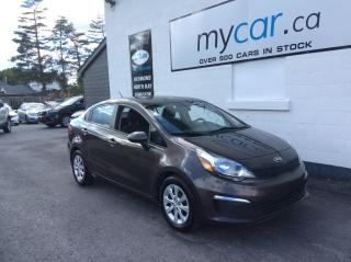 Used 2016 Kia Rio LX A/C. POWERGROUP. BLUETOOTH!!. for sale in Kingston, ON