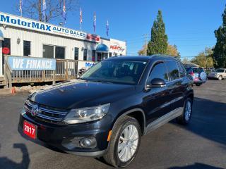 Used 2017 Volkswagen Tiguan COMFORTLINE for sale in Stoney Creek, ON