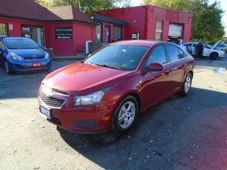 Used 2012 Chevrolet Cruze LT/ LOW KM / LIKE NEW / A/C / MINT/ ALLOYS /2 TONE for sale in Scarborough, ON