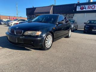 Used 2004 BMW 3 Series 4dr Sdn RWD 320i AS IS SUNROOF LEATHER for sale in Oakville, ON