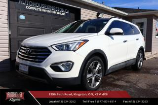 Used 2014 Hyundai Santa Fe XL Limited ONE OWNER - CLEAN CARFAX - FULLY LOADED for sale in Kingston, ON