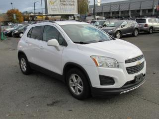 Used 2014 Chevrolet Trax LT for sale in Vancouver, BC