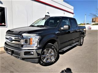 Used 2018 Ford F-150 XLT 4WD SUPERCREW XTR-BACKUP CAMERA-60KMS-WARRANTY for sale in Toronto, ON