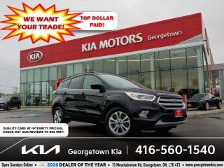 Used 2018 Ford Escape SEL | 1 OWNR | CLN CRFX | HTD SEATS | 61K | BU CAM for sale in Georgetown, ON