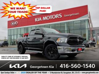 Used 2016 RAM 1500 Outdoorsman | BU CAM | BED LINER | AR RIMS | TINTS for sale in Georgetown, ON