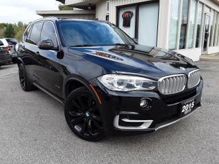 Used 2015 BMW X5 xDrive35i - 7 PASS! NAV! BACK-UP CAM! PANO ROOF! HUD! for sale in Kitchener, ON