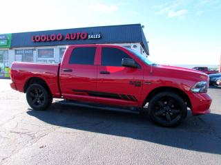Used 2019 RAM 1500 Classic 5.7L Hemi Crew Cab 4WD Camera Certified for sale in Milton, ON
