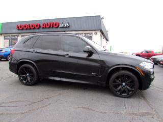 Used 2016 BMW X5 xDrive35i M Sport Pkg AWD Navigation Camera Certified for sale in Milton, ON