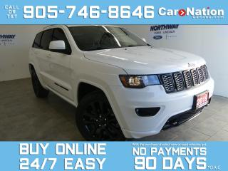 Used 2019 Jeep Grand Cherokee ALTITUDE | 4X4 | LEATHER | ROOF | NAV | ALPINE for sale in Brantford, ON
