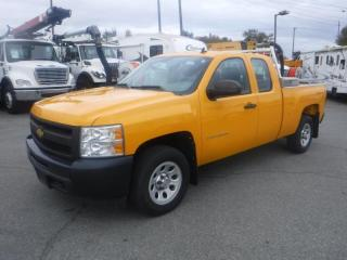 Used 2012 Chevrolet Silverado 1500 Work Truck Ext. Cab 4WD Short Box for sale in Burnaby, BC