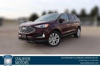 New 2021 Ford Edge Titanium for sale in Tillsonburg, ON