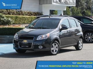 Used 2011 Chevrolet Aveo LT AM/FM Radio, CD player, A/C for sale in Coquitlam, BC