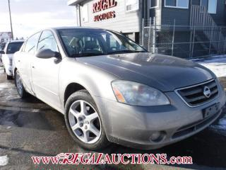 Used 2004 Nissan ALTIMA SE 4D SEDAN 3.5L for sale in Calgary, AB