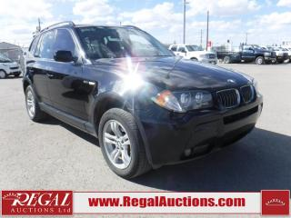 Used 2006 BMW X3 4D Utility 3.0 AWD for sale in Calgary, AB