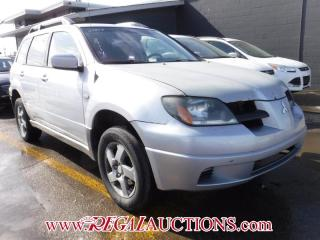 Used 2004 Mitsubishi Outlander 4D Utility AWD for sale in Calgary, AB