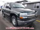 Used 2002 Chevrolet TAHOE  4D UTILITY 4WD for sale in Calgary, AB