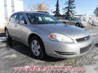 Used 2006 Chevrolet IMPALA LS 4D SEDAN for sale in Calgary, AB