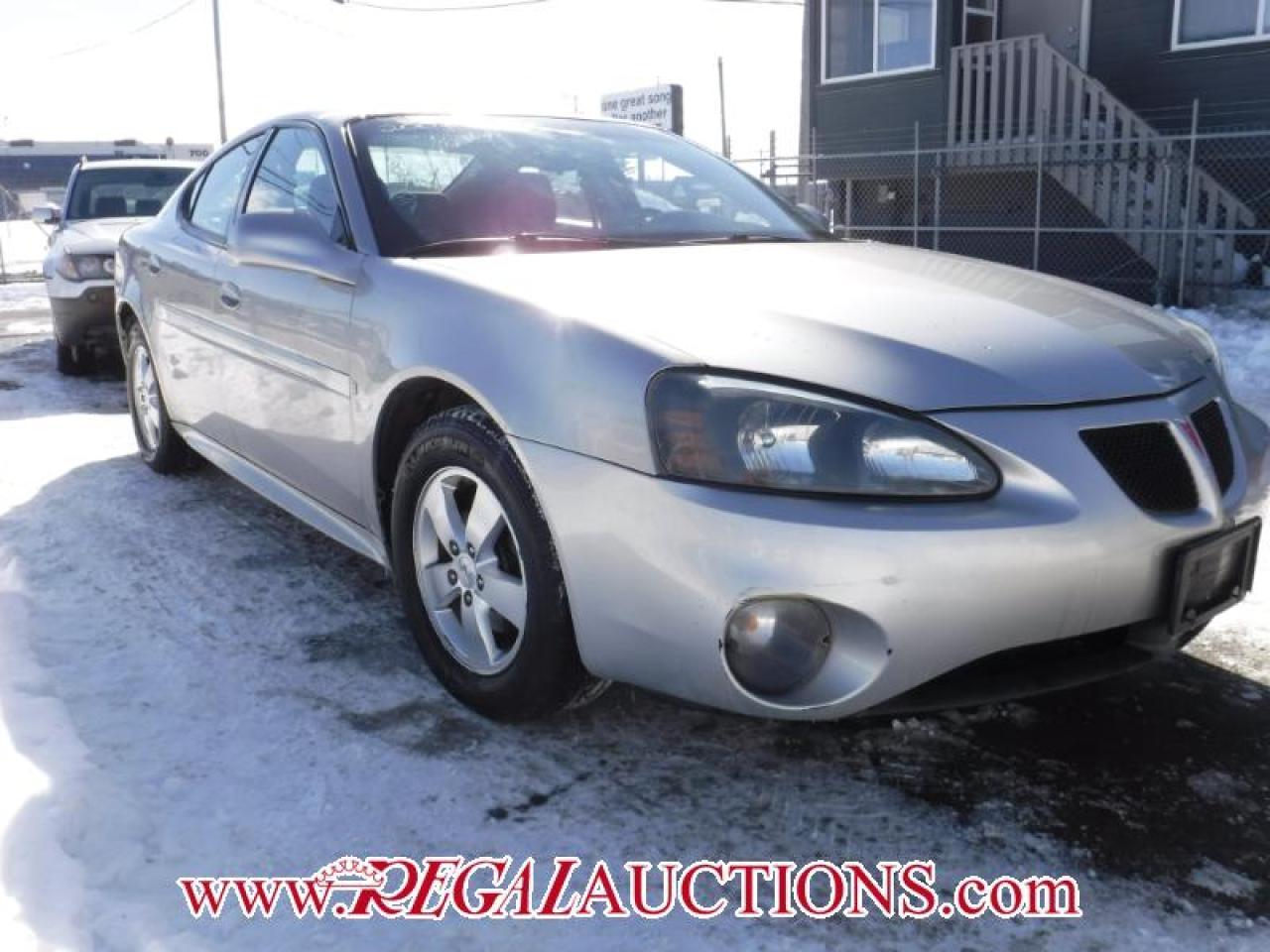 2007 Pontiac GRAND PRIX BASE 4D SEDAN