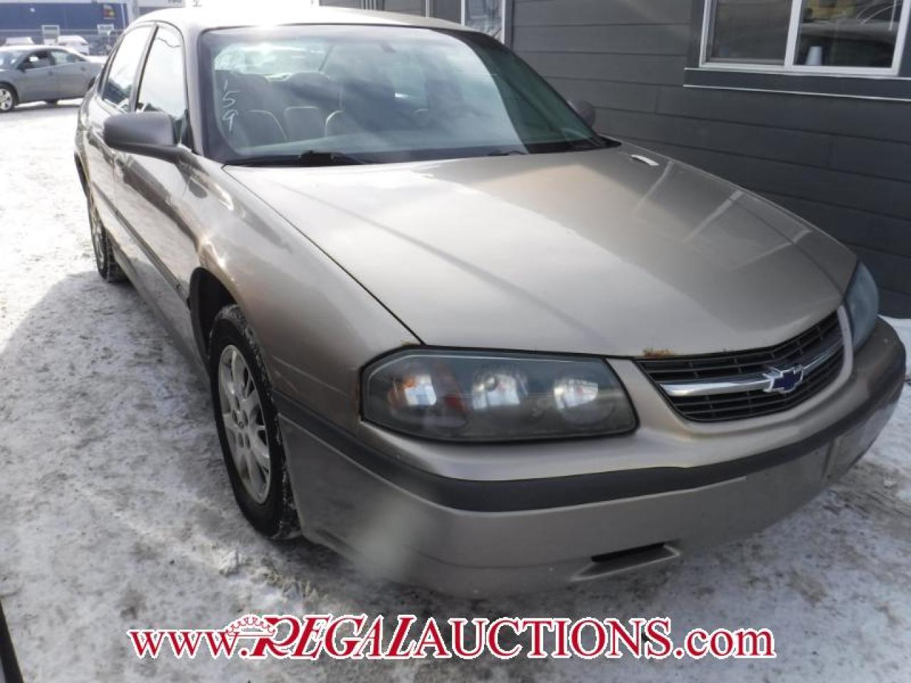Photo of Tan 2001 Chevrolet IMPALA BASE 4D SEDAN