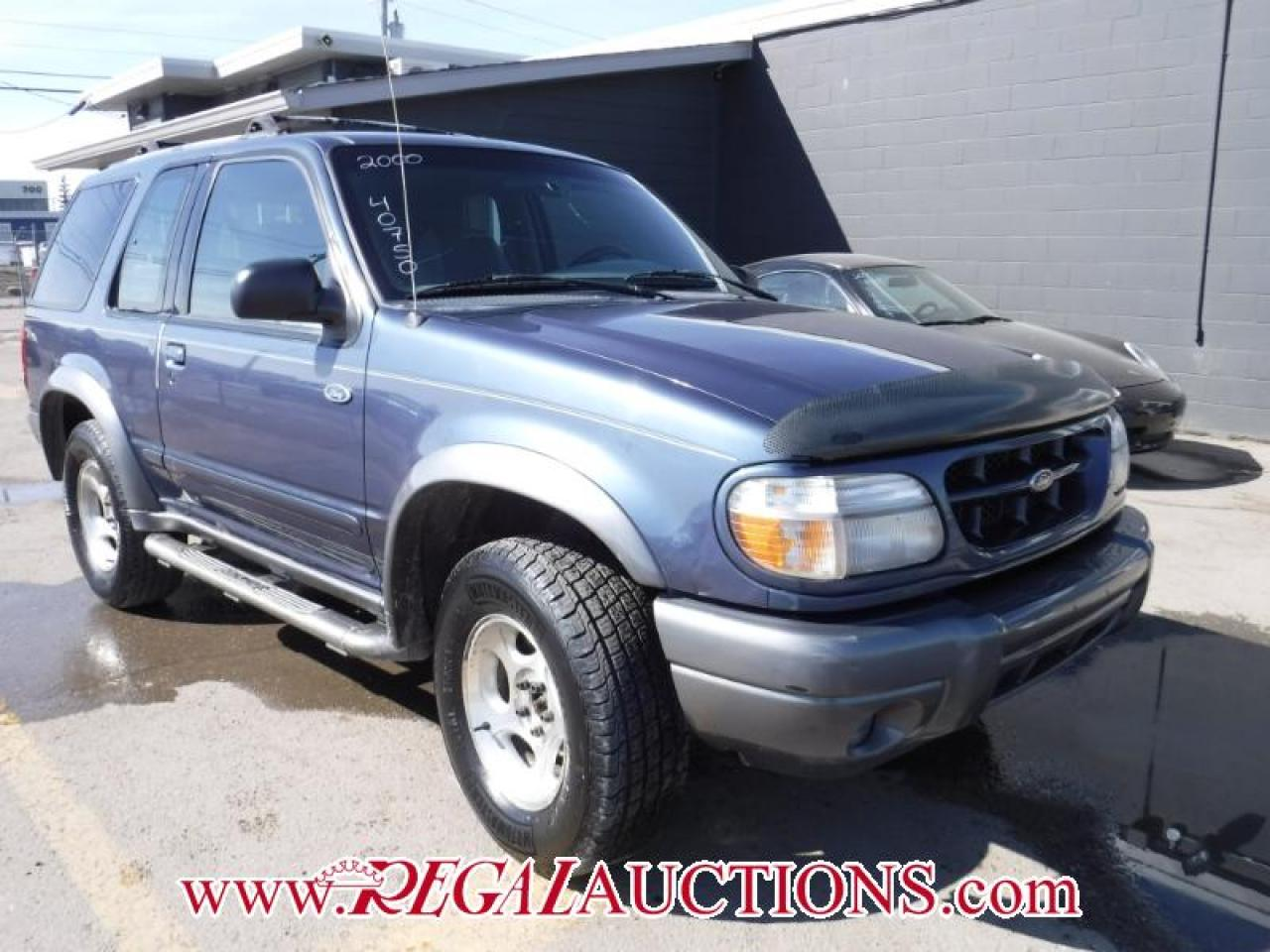 Photo of Blue 2000 Ford EXPLORER SPORT 2D UTILITY 4X4