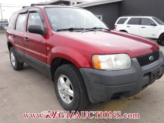 Used 2003 Ford ESCAPE  4D UTILITY 2WD for sale in Calgary, AB