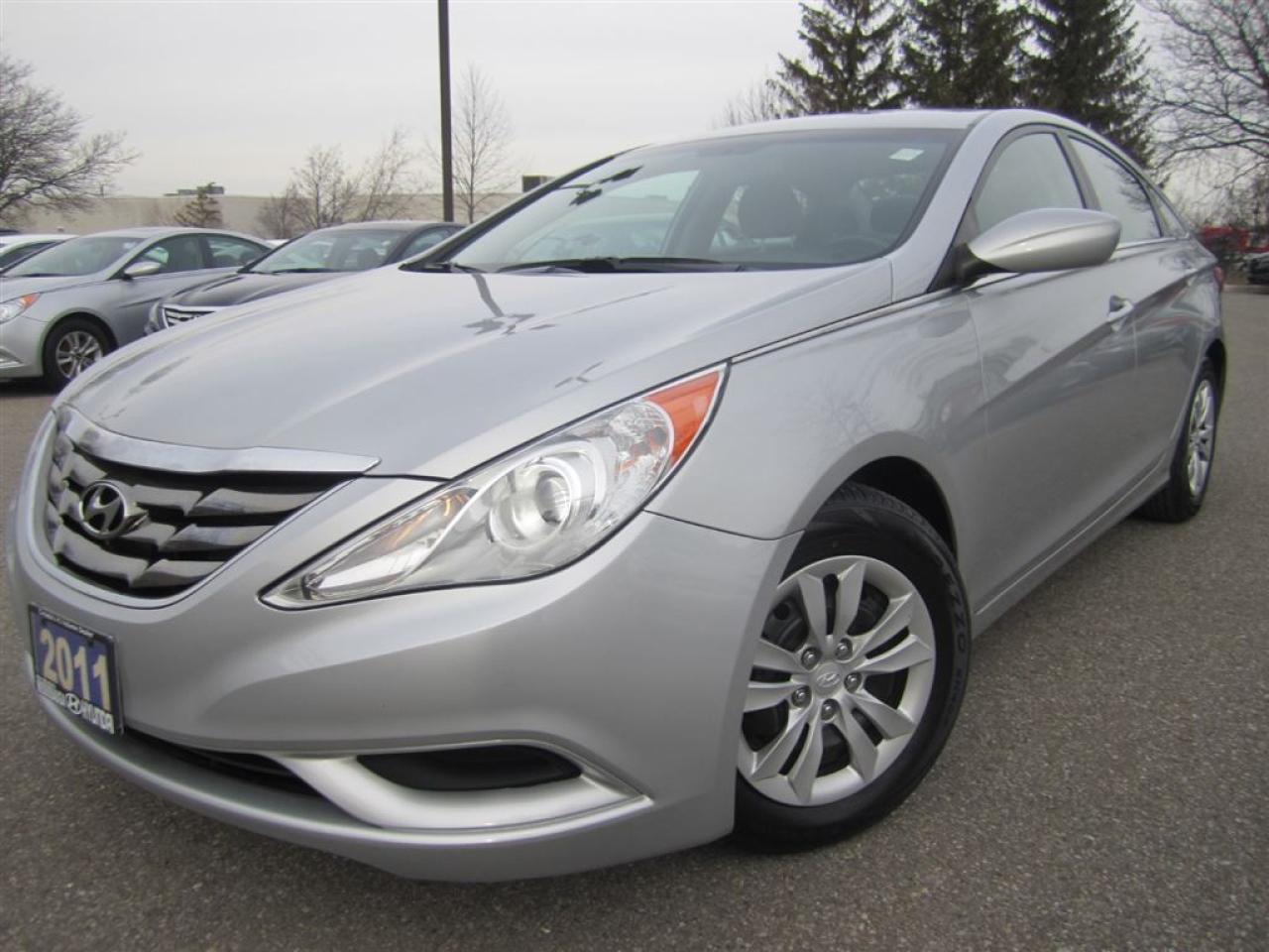 Photo of Silver 2011 Hyundai Sonata
