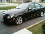 Photo of Black 2009 Mercedes-Benz C 300
