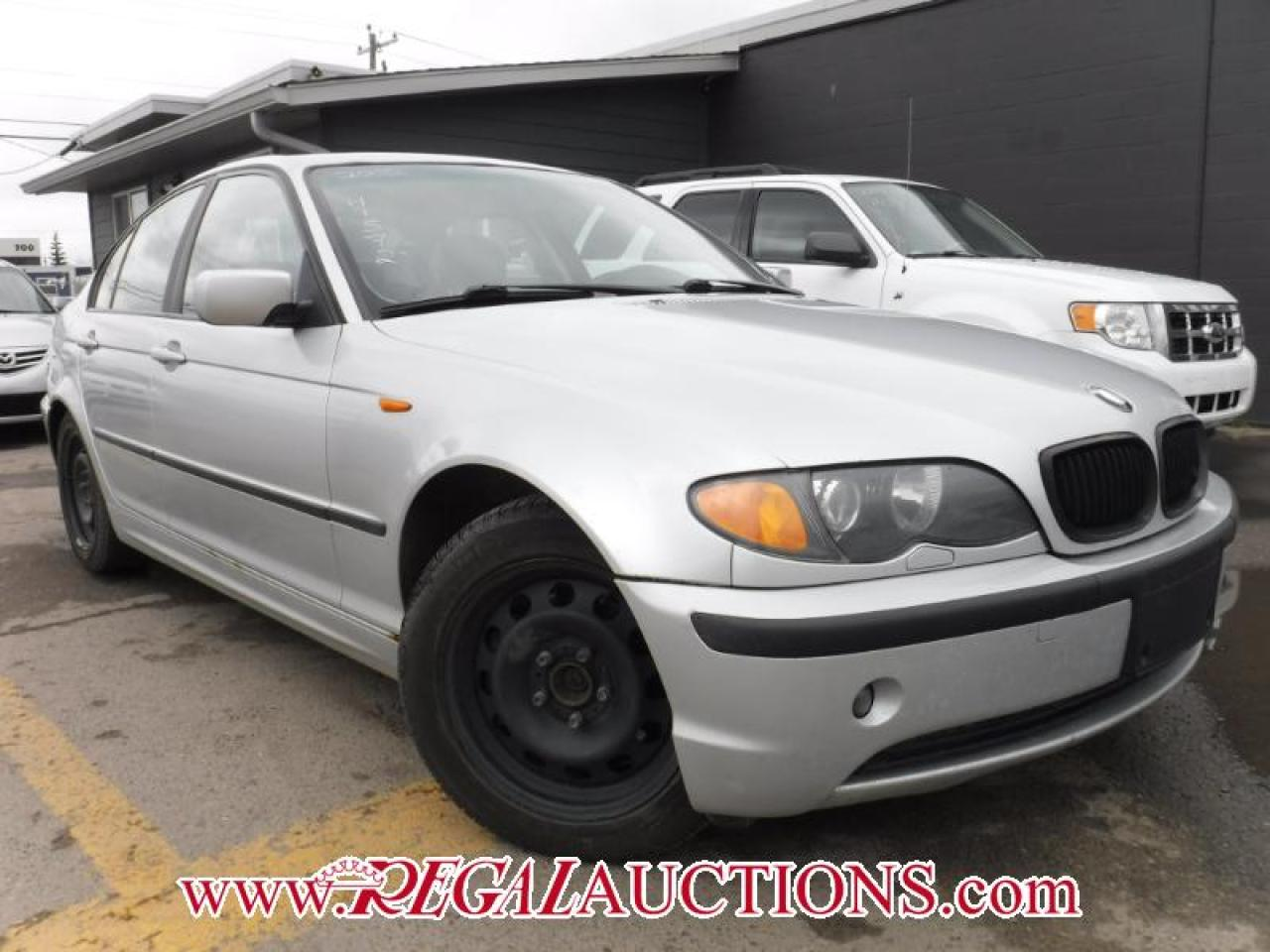 Photo of Silver 2002 BMW 3 SERIES 325XI 4D SEDAN AWD