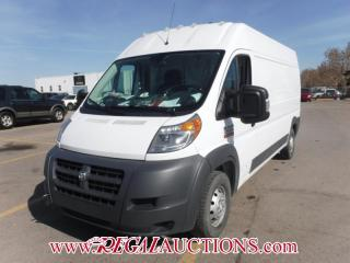 Used 2015 RAM PROMASTER 2500 HIGH ROOF CARGO VAN 159 WB for sale in Calgary, AB