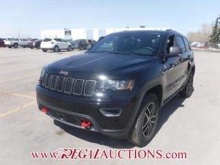 Used 2017 Jeep GRAND CHEROKEE TRAILHAWK 4D UTILITY 4WD 5.7L for sale in Calgary, AB
