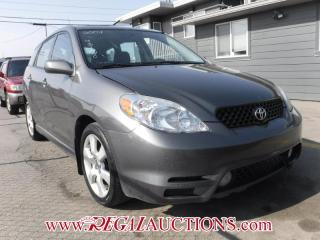 Used 2004 Toyota MATRIX XR 4D HATCHBACK for sale in Calgary, AB