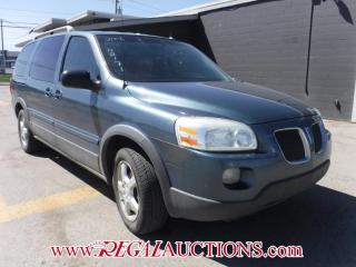 Used 2006 Pontiac Montana 4D EXT WAGON for sale in Calgary, AB