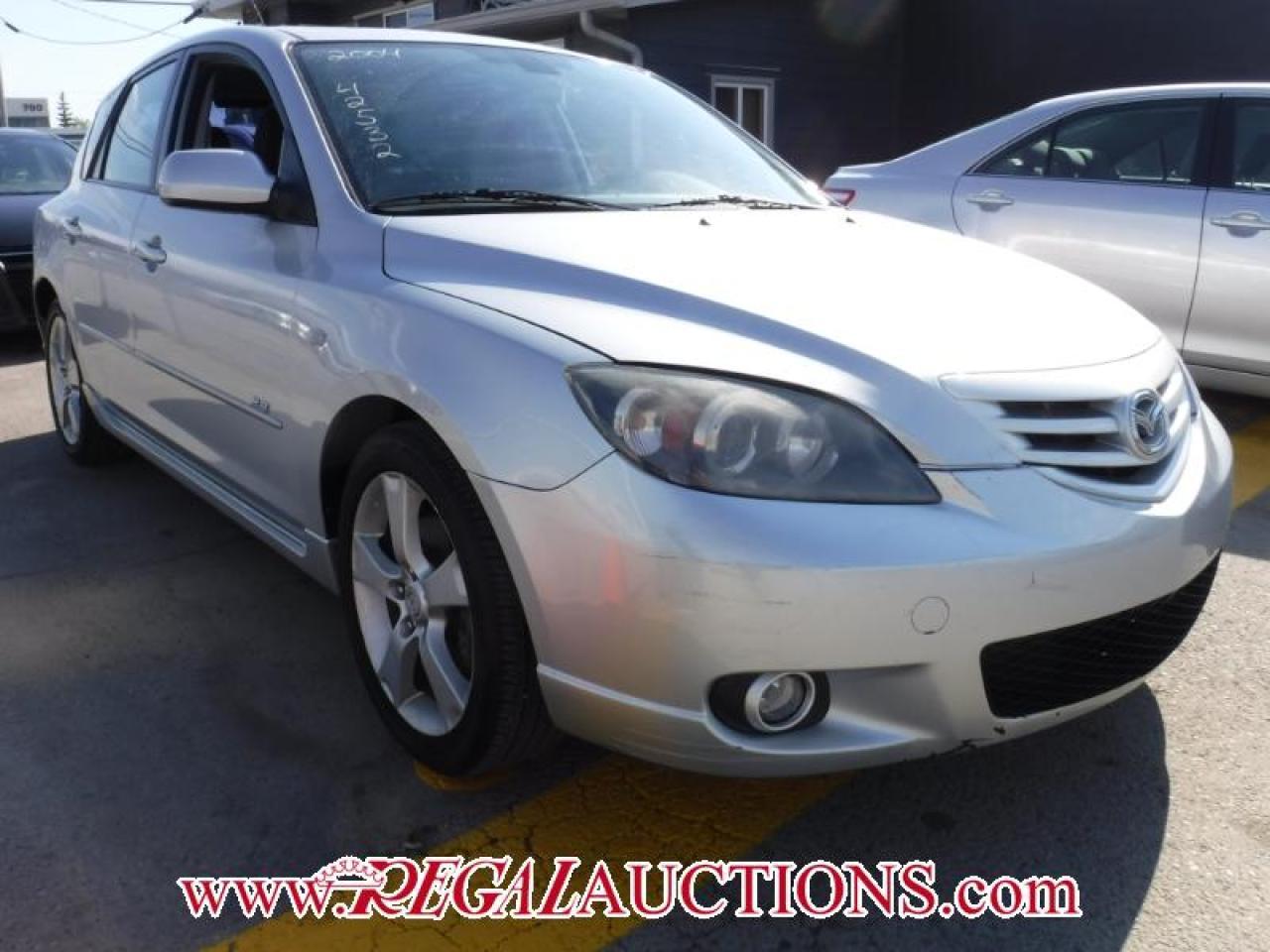 Photo of Silver 2004 Mazda MAZDA3  4D HATCHBACK