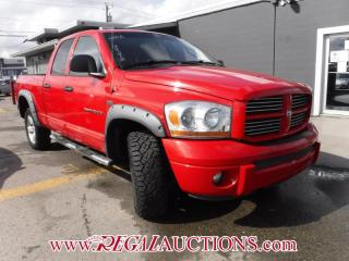 Used 2006 Dodge RAM 1500 SLT 4D QUAD CAB for sale in Calgary, AB