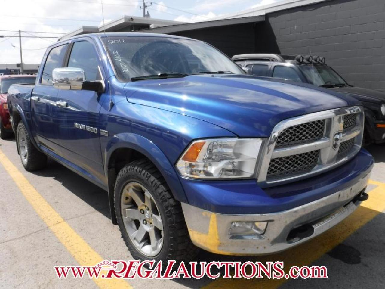 Photo of Blue 2011 Dodge RAM 1500 LARAMIE CREW CAB 4WD